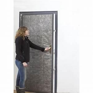 Isolation De Porte : kit isolation pour porte de service ou cellier ouatinage ~ Premium-room.com Idées de Décoration