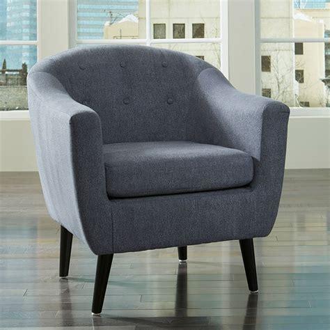 klorey denim accent chair  signature design  ashley