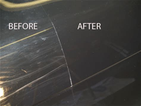 how to buff out scratches on a watch