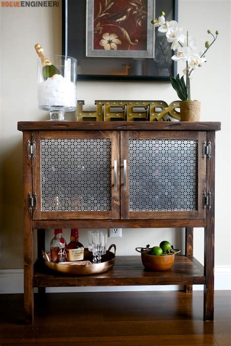 kitchen cabinet diy bar cabinet 187 rogue engineer 2479