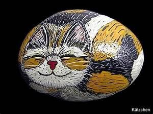 Steine Bemalen Katze : bemalte steine steine bemalen ist mein hobby staudeng rten steine bemalen steine und ~ Watch28wear.com Haus und Dekorationen