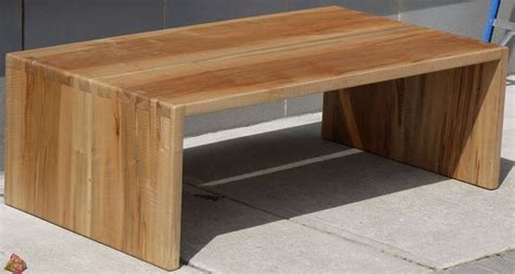 dovetailed spalted tiger maple coffee table at 1stdibs