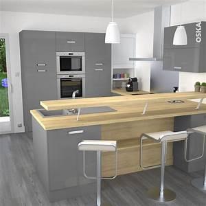 idee petite cuisine equipee 6 cuisine ouverte sur salle With idee petite cuisine equipee