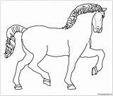 Horse Leonardo Coloring Sculpture sketch template