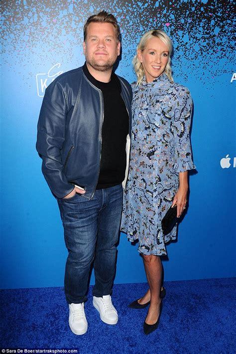 James Corden Poses With Wife Julia At Carpool Karaoke Bash