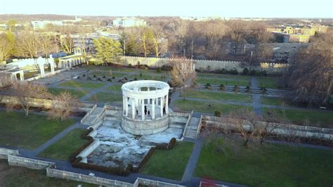 untermeyer park sunset on the hudson river yonkers ny untermyer park on christmas day 2016 youtube