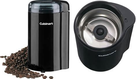 You've probably heard of burr grinders and blade grinders while all of the coffee bean grinders we've talked about will grind up your beans, the best kind for home use a good blade grinder will get the job done, and your coffee will taste better than if you were to. Best Buy: Cuisinart Coffee Grinder Only $9.99 Today Only