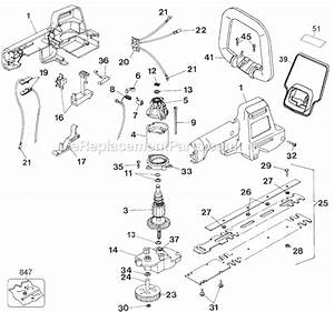 Black And Decker Ht500 Parts List And Diagram