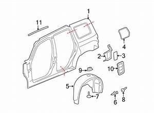 Chevrolet Hhr Quarter Panel Extension  Right