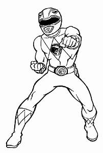 Mighty Morphin Power Rangers Coloring Pages - Coloring Home