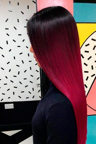 63 Best Red Ombre Hair Color Ideas For Long Hair