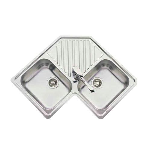 cuisine evier d angle evier d 39 angle encastrable luisina 2 cuves 1 egouttoir