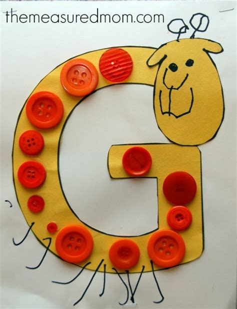 letter g crafts simple letter g crafts for toddlers and preschoolers the