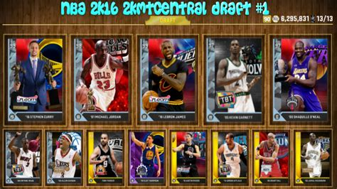 nba  kmtcentral draft  rated draft  youtube