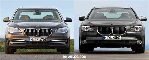 New Bmw 7 Series Facelift Vs. Pre