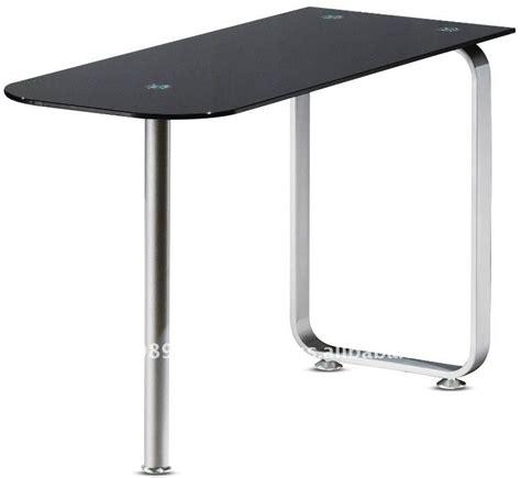 glass desk metal legs modern office metal legs glass top desk sgd 1200u sgd