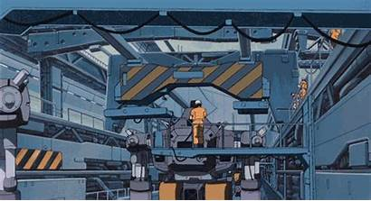 Assembly Line Factory Mech Police Mobile Gifs