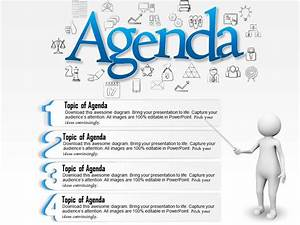 Related Keywords & Suggestions for presentation agenda