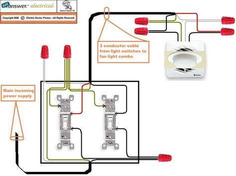 bathroom fan with light wiring diagram tciaffairs