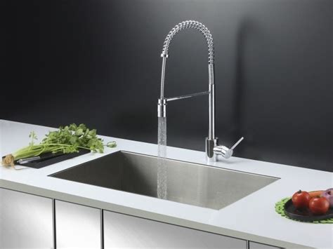 Stainless Steel Kitchen Sinks And Faucets by Ruvati Rvc2601 Stainless Steel Kitchen Sink And Chrome