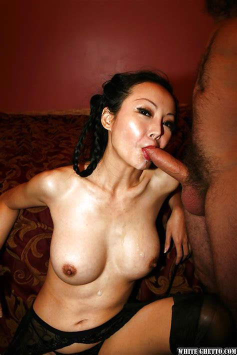 Asian mature Ange Venus enjoys threesome sex in her ...