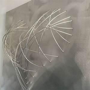 Tableau Metal Design : tableau m tal coeur d co loft sculpture m tal tableau contemporain design d co loft ~ Teatrodelosmanantiales.com Idées de Décoration