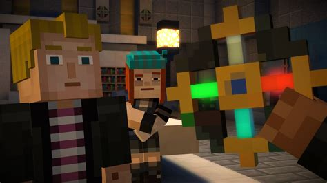 review minecraft story mode   place