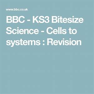 Bbc - Ks3 Bitesize Science