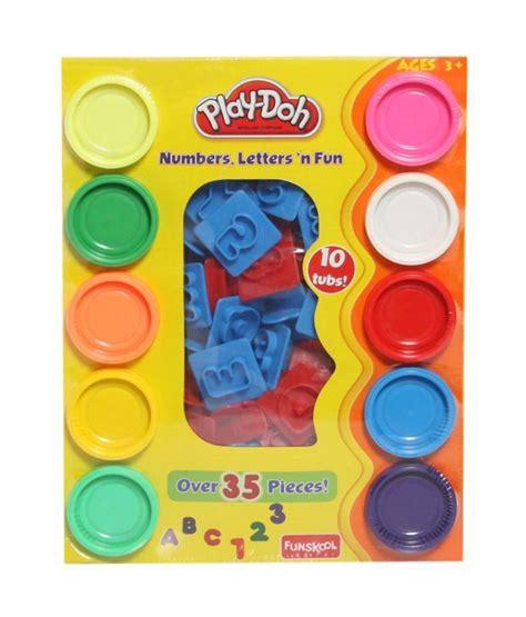 funskool play doh letters numbers buy funskool play