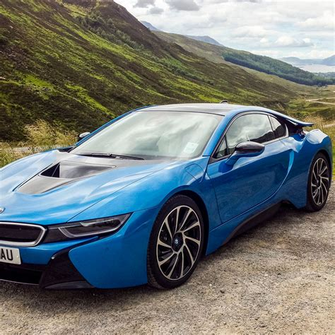 These Beautiful Bmw I8 Wallpapers Are A Futuristic Dose Of