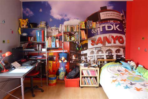 chambre fille londres chambre enfant déco gris et blanc et rangements
