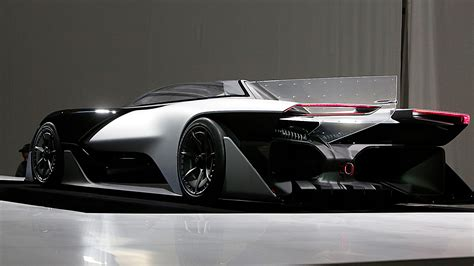 faraday futures electric hypercar