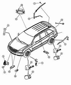 2007 Chrysler Pacifica Sensor  Anti