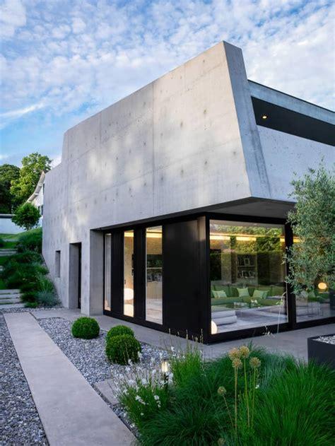 private modern residence lb house  geneva switzerland
