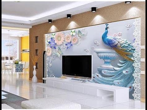 latest  wallpaper  bedroom living roomas royal decor