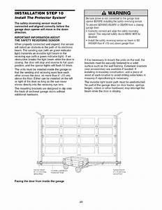 Craftsman 13953648d User Manual 1  2 Hp Garage Door Opener