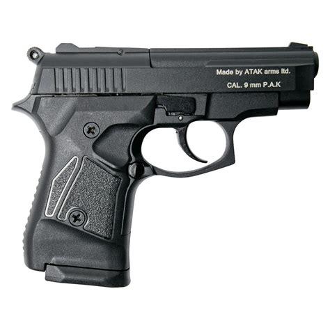 Stalker 914 Black Finish - Full Automatic 9mm Blank Firing R