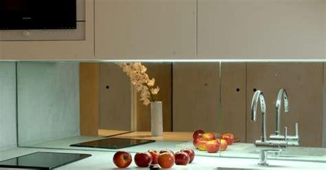 cuisine miroir la crédence miroir tendance et design pour ma cuisine