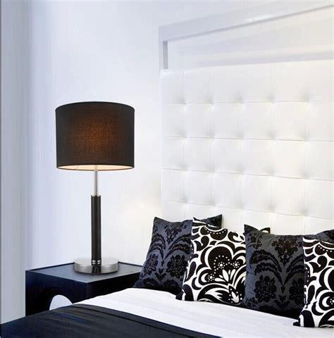 bedroom table lights modern black white table lamp light bedroom decoration 10700 | Modern Black White Table Lamp Light Bedroom Decoration Bedside Light Desk Lighting E27 Metal Body WTL026