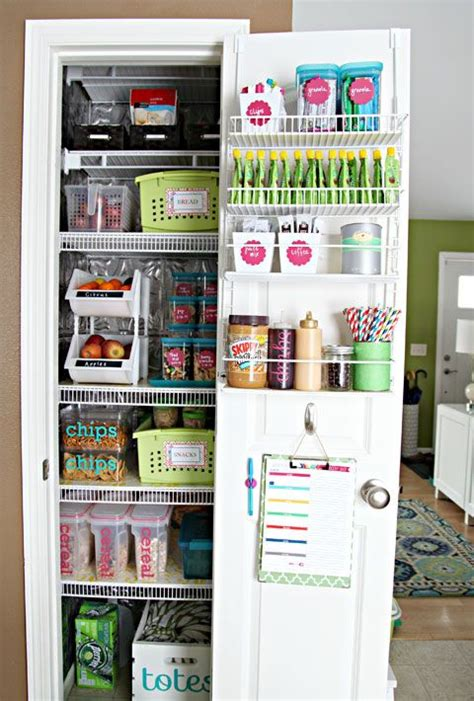 25 best ideas about organize small pantry on