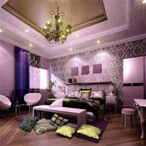 Lilac Damask Bedroom Theme  Bedroom Ideas Pinterest