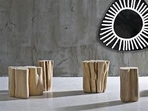 Pouf En Bois : pouf table basse en bois brick l by gervasoni design paola navone ~ Teatrodelosmanantiales.com Idées de Décoration