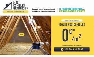 Mes Combles Gratuits : vous avez des combles sous le toit faites les isoler ~ Melissatoandfro.com Idées de Décoration