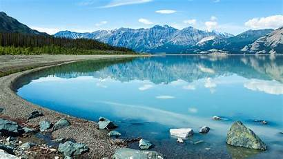 4k Canada Mountain Landscape Yukon Lake 5k