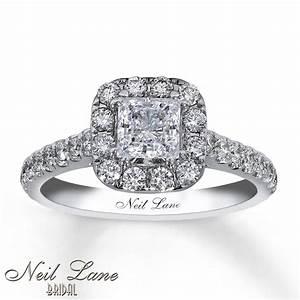 Pink princess cut diamond wedding rings jared neil lane for Princess cut pink diamond wedding rings