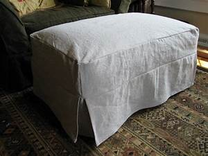 Slipcovers For Ottomans Home Furniture Design