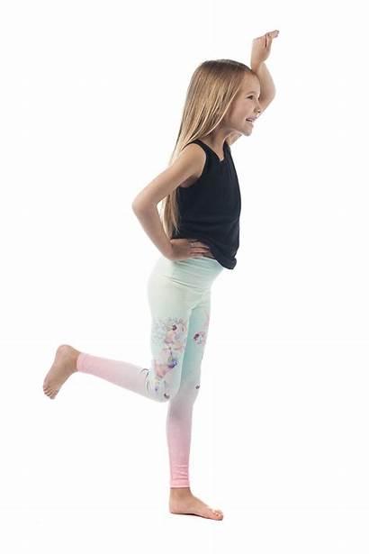 Leggings Unicorn Tights Legging Dance Jeggings Ombre