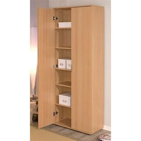 meuble rangement bureau armoire de rangement 2 portes vetra achat vente