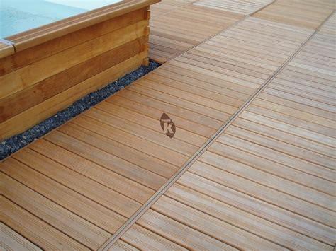 kit terrasse bois kit terrasse caillebotis g 233 ant en bangkira 239 tekabois