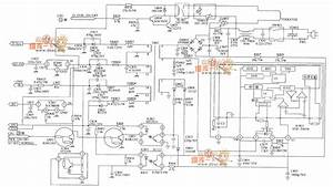 Lg Cf-25h84 Color Tv Power Supply Circuit Diagram - Control Circuit - Circuit Diagram